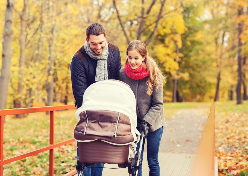 Spacery z noworodkiem i niemowlakiem